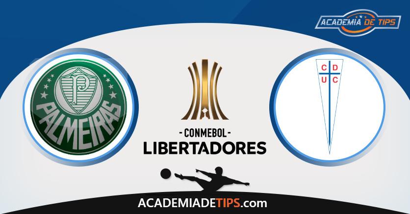 Palmeiras vs Universidade Catolica, Análise e Apostas Libertadores – 4 Palpites
