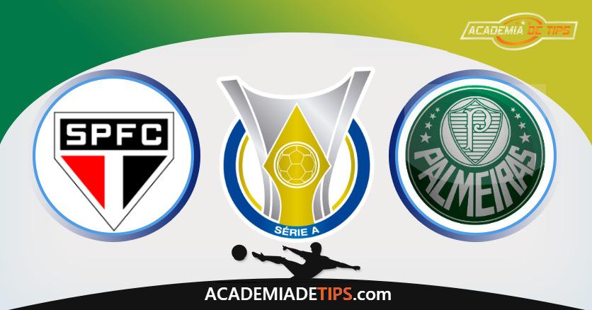 São Paulo vs Palmeiras, Prognóstico, Análise e Apostas Brasileirão – 4 Tips Sugeridas