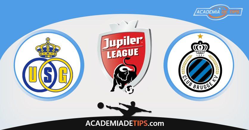 St. Gilloise vs Club Brugge, Prognóstico, Análise e Apostas Jupiler League