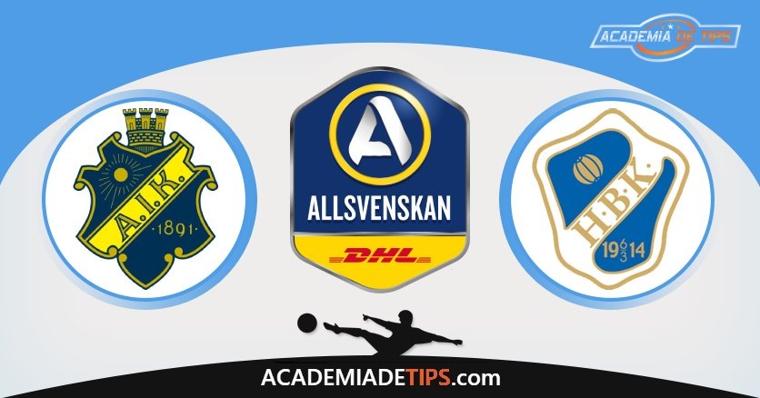 AIK Stockholm vs Halmstad, Prognóstico, Análise e Apostas Allsvenskan