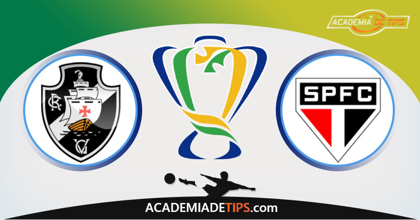 Vasco vs São Paulo, Prognóstico, Análise e Apostas Copa do Brasil