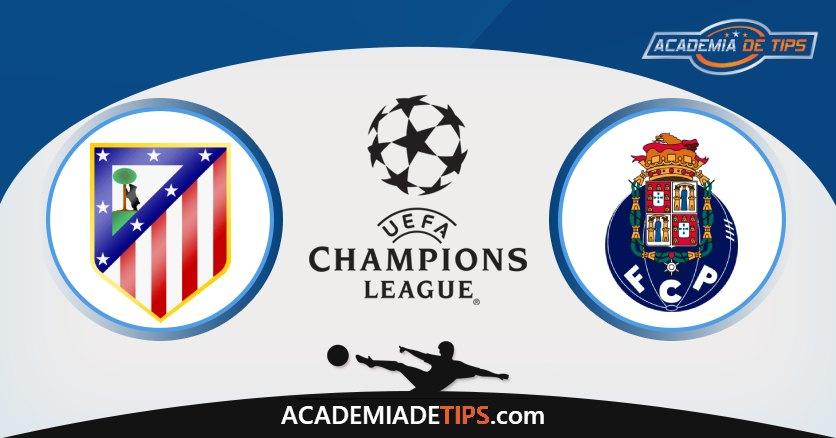 Atl Madrid vs Porto, Prognóstico, Análise e Apostas Liga dos Campeões