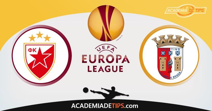 Estrela Vermelha vs Braga, Prognóstico, Análise e Apostas Liga Europa