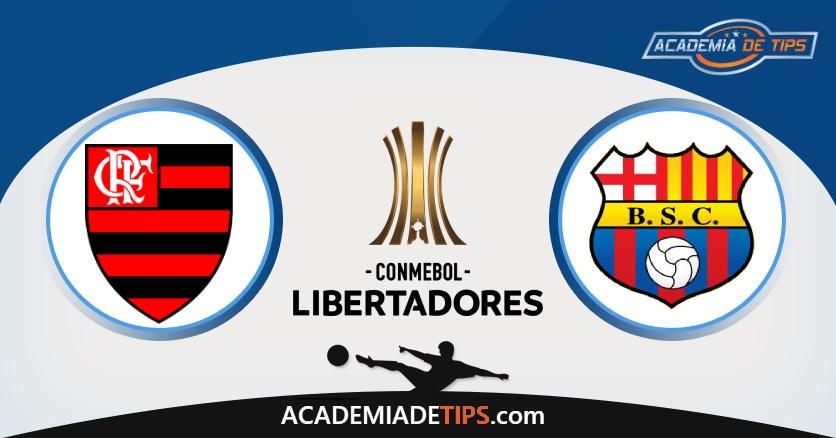 Flamengo vs Barcelona, Prognóstico, Análise e Apostas Libertadores – 4 Tips Sugeridas