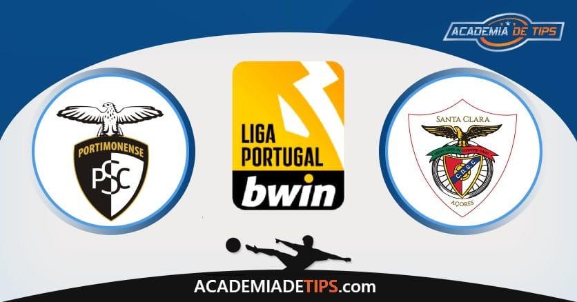Portimonense vs Santa Clara, Prognóstico, Análise e Apostas Liga Portugal