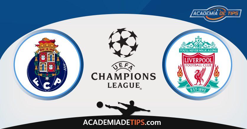 Porto vs Liverpool, Prognóstico, Análise e Apostas Liga dos Campeões