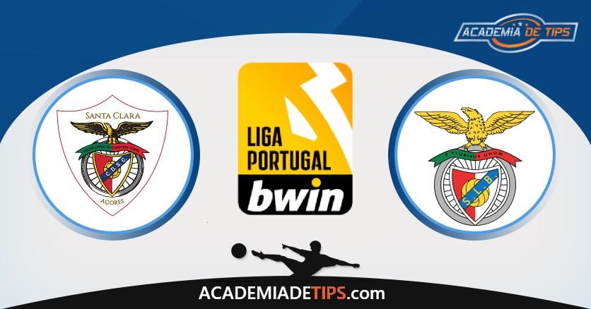 Santa Clara vs Benfica, Prognóstico, Análise e Apostas Liga Portugal
