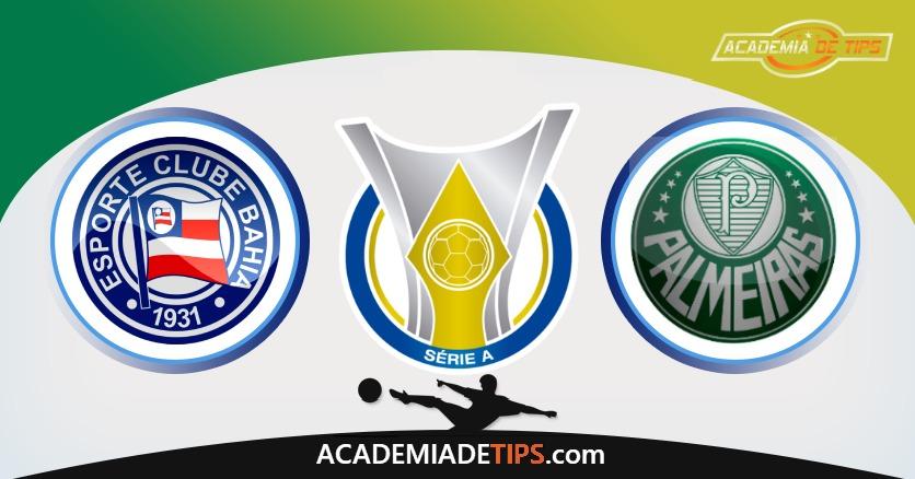 Bahia vs Palmeiras, Prognóstico, Análise e Apostas Brasileirão – 4 Tips Sugeridas