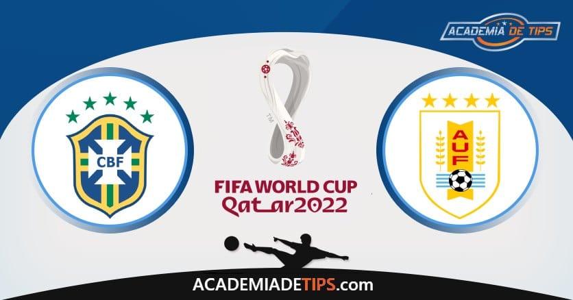 Brasil vs Uruguai, Prognóstico, Análise e Apostas Qual. Qatar 2022