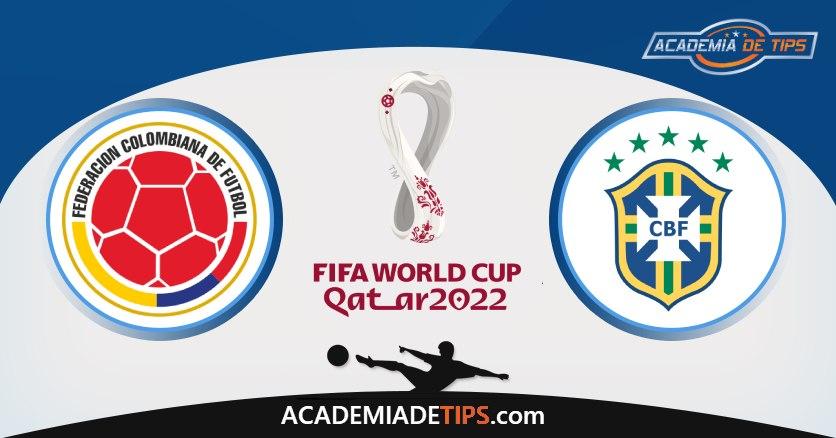 Colômbia vs Brasil, Prognóstico, Análise e Apostas Qual. Qatar 2022