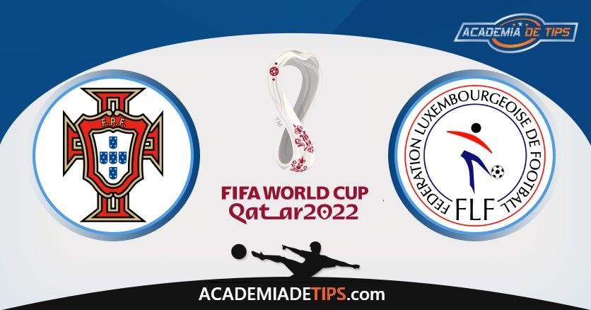 Portugal vs Luxemburgo, Prognóstico, Análise e Apostas Qual. Qatar 2022